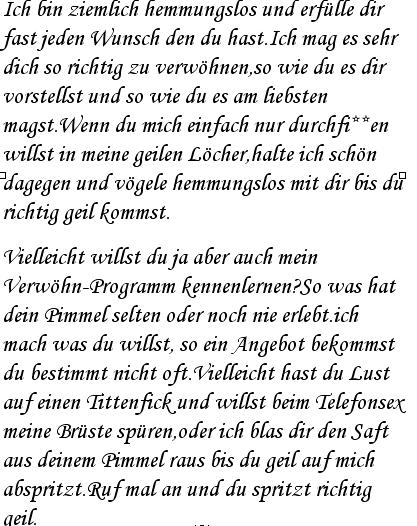 Telefonsex Deutsch Russin